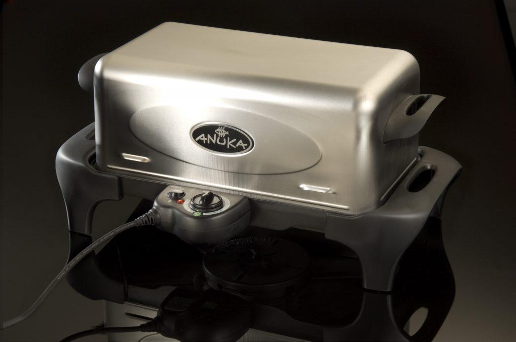 Anuka Silver electric food hot smoker appliance