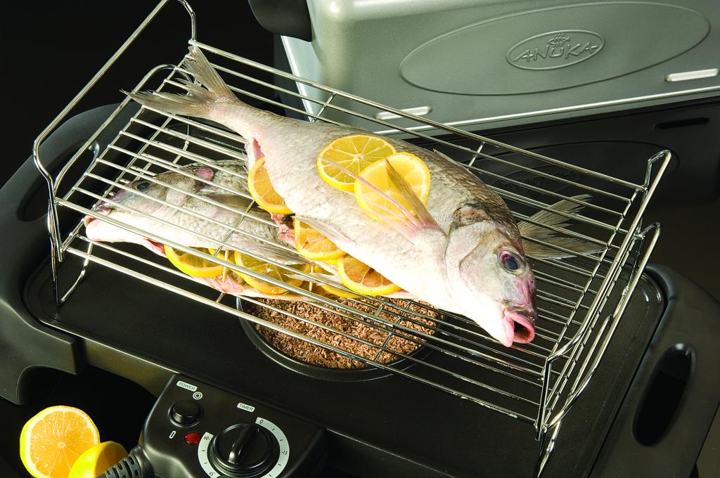 Anukaelectricsmoker smoking fish